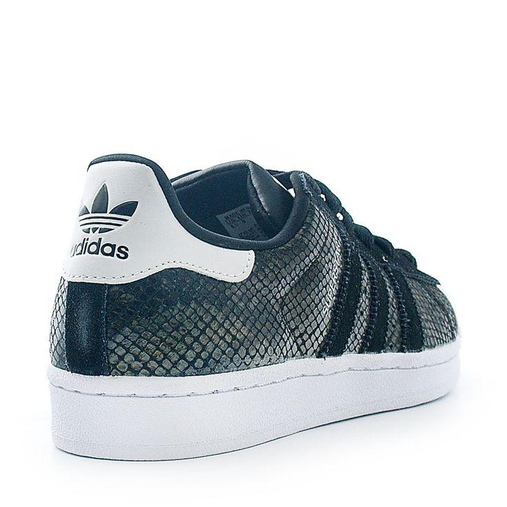 Adidas Superstar Croco Rouge