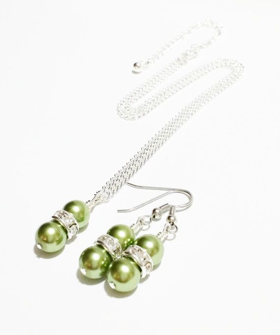 Bridal Party Gift / Bridesmaid Jewelry Set by VickysLittleSecrets, $14.00