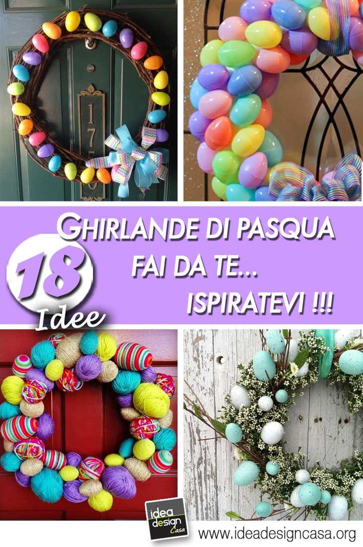 Ghirlanda Di Pasqua Ecco 18 Idee Fai Da Te Molto Originali