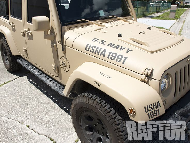 JEEP US NAVY: Full Overspray #raptorised