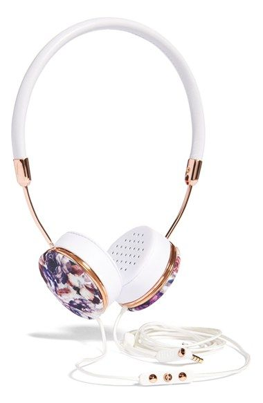 Frends x We Are Handsome 'Layla' Headphones (Online Only) available at #Nordstrom Always at the forefront of fusing a superior music experience with modern style, Frends offers limited-edition floral-print headphones created in collaboration with Australian swimwear label We Are Handsome.