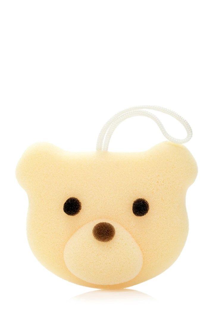 Style Deals - A bath sponge designed to look like a bear face.