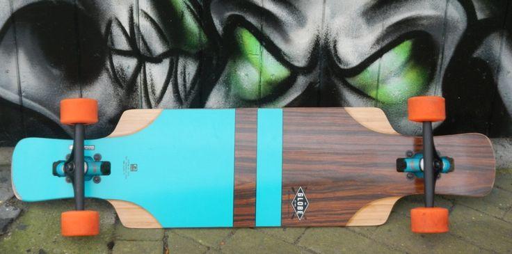 test review longboard globe geminon flx 37 aqua. Black Bedroom Furniture Sets. Home Design Ideas