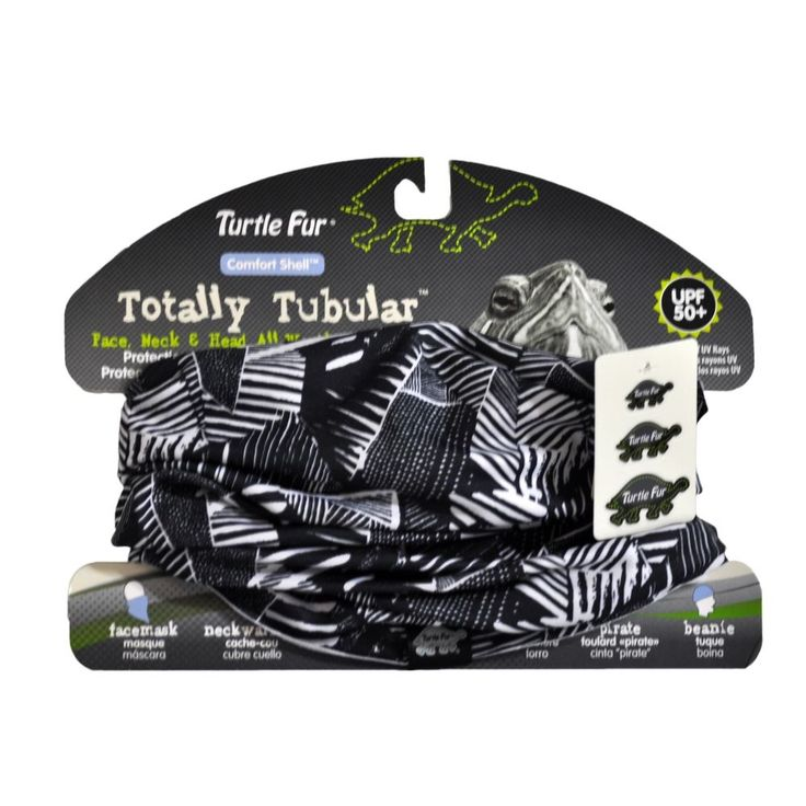 Turtle Fur Comfort Shell Totally Tubular Lightweight Multi-Functional Headwear #TurtleFur