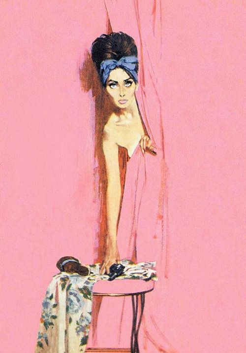 The Case of the Cautious Coquette by Robert McGinnis  **We offer Custom Picture #Framing and Bespoke #ArtRestoration! Visit our #Art Lounge: 310 Via Vera Cruz Suite 112 San Marcos, CA 92078 Call: (760) 295-7788 Twitter: www.twitter.com/AFrameofArt Pinterest: www.pinterest.com/AFrameofArt Our Home: www.AFrameofArt.com