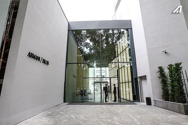 Press conference was held in the fascinating location of Armani Silos in Milan