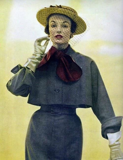 40's fashion | TumblrMarching 1949, Vogue 1949, John Rawlings, 1949 Photos, Elise Daniel, Larry Aldrich, Wool Suit, Vogue Magazine, 40S Fashion