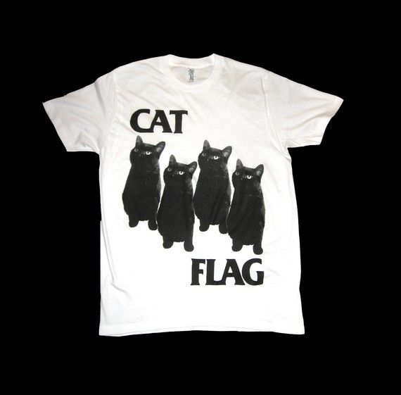 Cat Flag!: Shirts Size,  T-Shirt, Black Flags, Flags Cat, Cat Tshirt,  Tees Shirts, Flags Shirts, T Shirts, Cat Flags