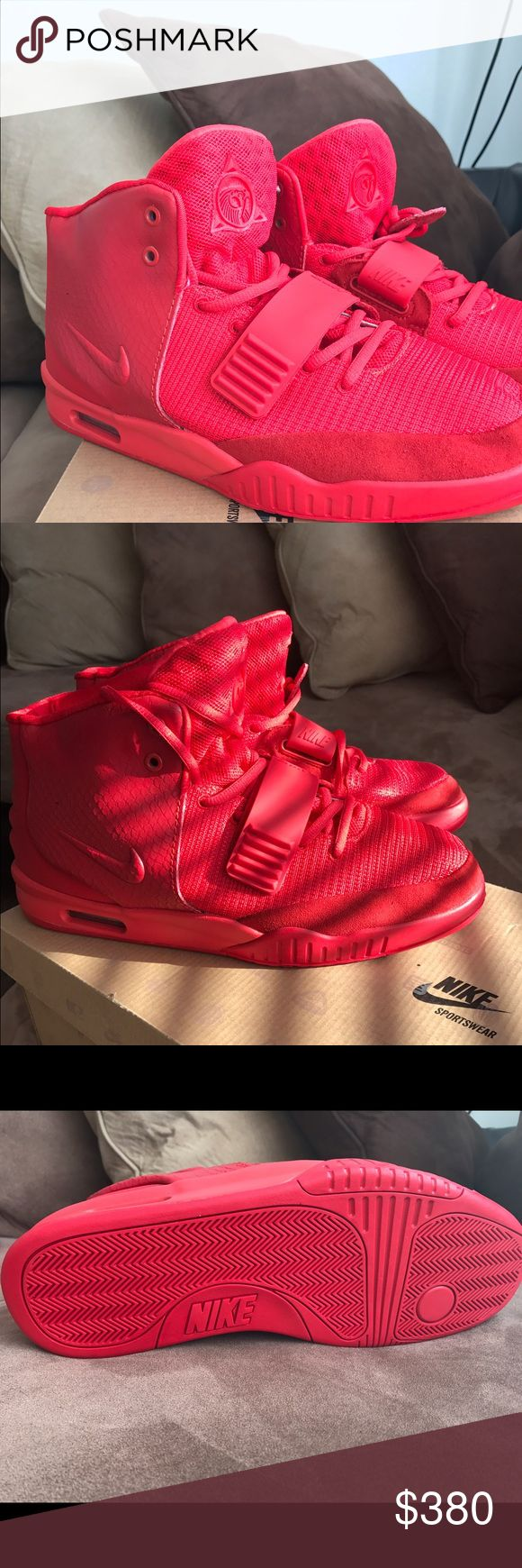 Nike Air Yeezy Red October | Air yeezy red october, Yeezy red october and Air  yeezy