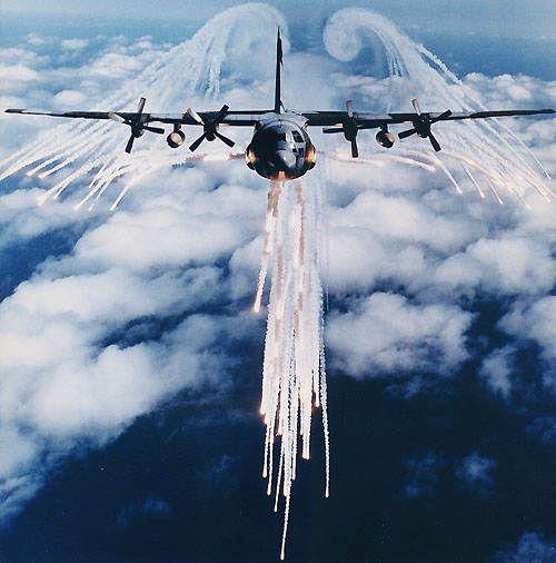 C-130J Hercules Tactical Transport Aircraft