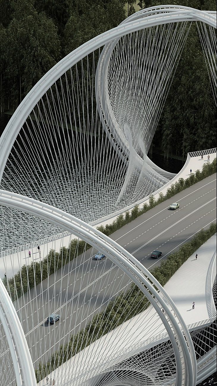 San Shan Bridge - Beijing