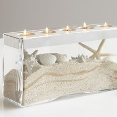 Customizable Tealight Centerpiece - another great idea - Reg. price $65, available to March Hosts for only $18