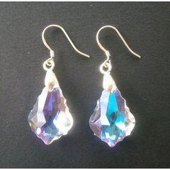 925 Silver Crystal Earrings for R85.00