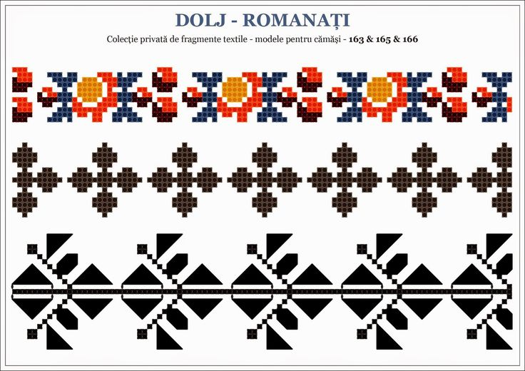 Traditional Romanian motifs