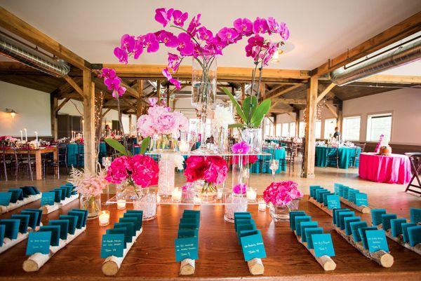Turquoise Fuchsia Wedding: 17 Best Fuchsia Pink And Turquoise Decor Images On