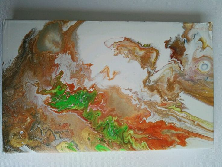 EFECTOS!!! Cuadro abstracto sobre cartón, pintado con acrílicos!!!