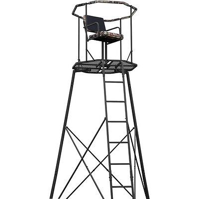 Tree Stands 52508: Hunting Shooting 300Lbs Ladder Tripod Tree Stand 15 W/ Realtree Camo 360* Seat -> BUY IT NOW ONLY: $228.48 on eBay!