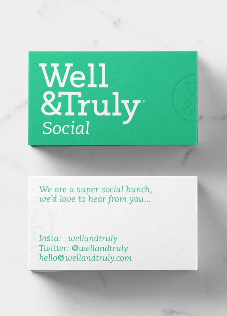 Colour / Well & Truly / Brand Identity / Business Card / Stationery / Tone of Voice / Logo / Snacking / Start-up / Healthy