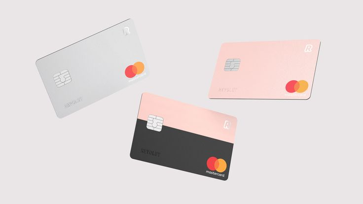 Revolut bank card by Blond