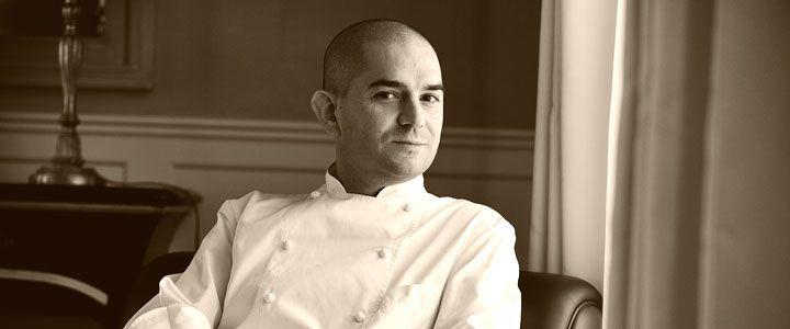 Chef Damiano Nigro, Villa D'Amelia One Star Michelin. Benevello, Piedmont    www.villadamelia.com