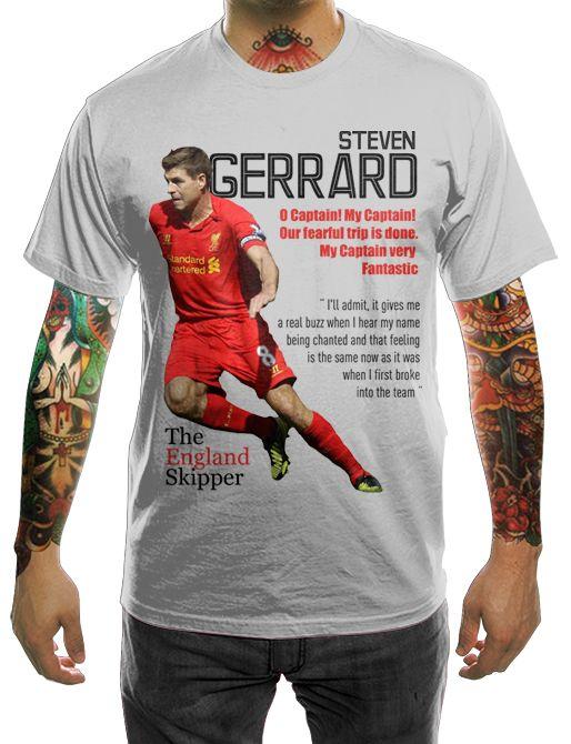 #Gerrard #Liverpool #England #Legend #UltrasIDClothes @Ultras_co_id #Jakarta #Indonesia SMS/WA/Line +628888526003