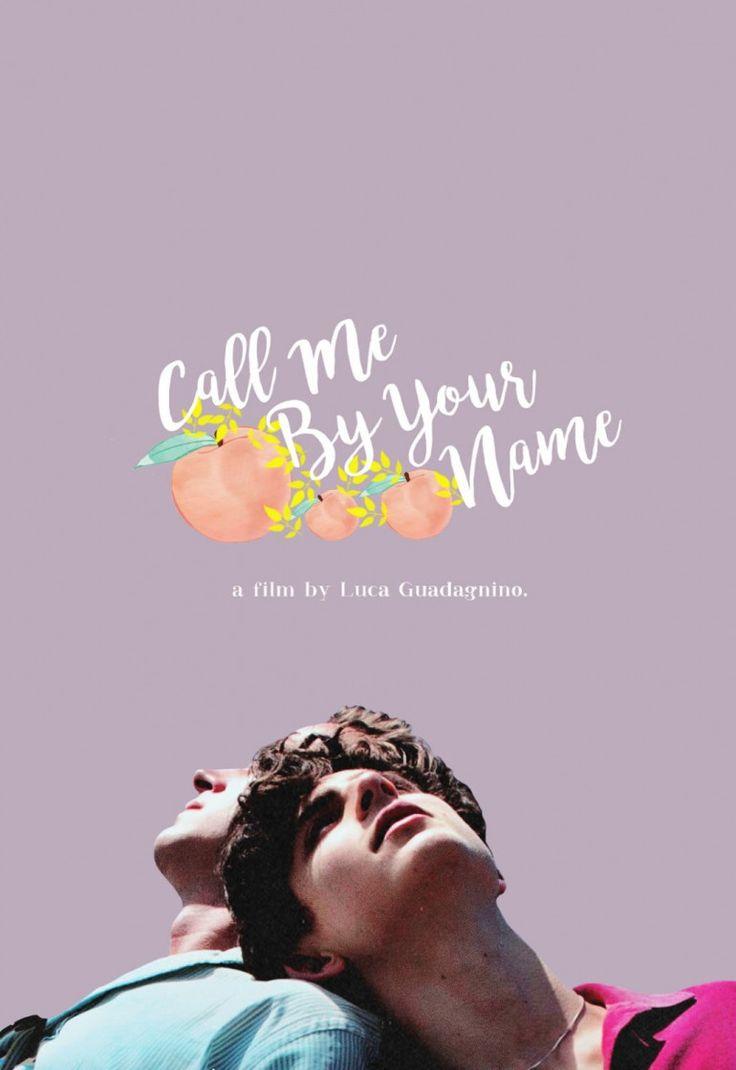 Call me by your name poster call me names i call you