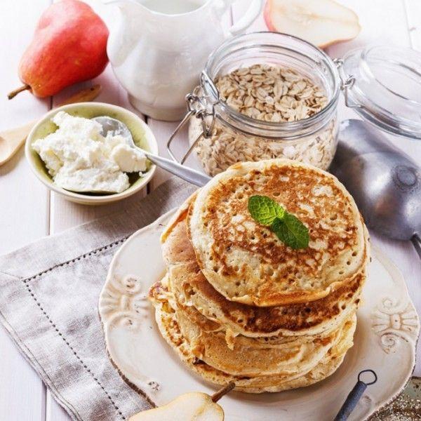 Υγιεινά pancakes με μόνο 2 υλικά!