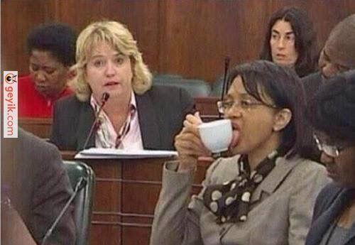 kahve içerken i don't give a damn