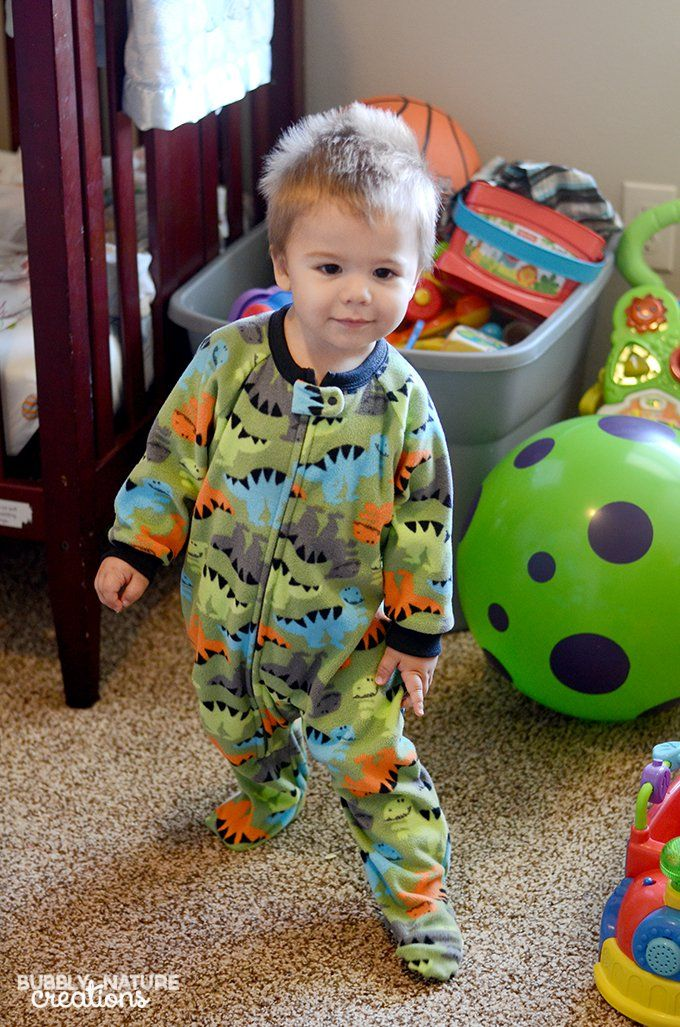 Gerber Blanket Sleepers for the softest pajamas!