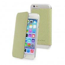 Carcaça iPhone 6 Made in Paris Crystal Folio Verde R$75,30