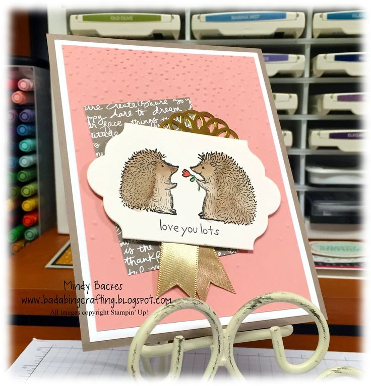Bada-Bing! Paper-Crafting!: Display Stamples - Tip Top Taupe