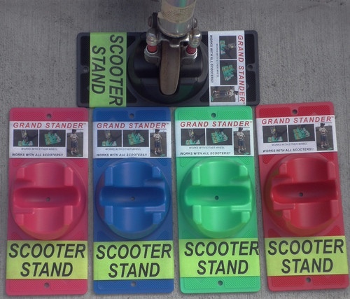 Grand Stander Scooter Stand for Razors and Other Brands -- $8 - cheaper than Amazon