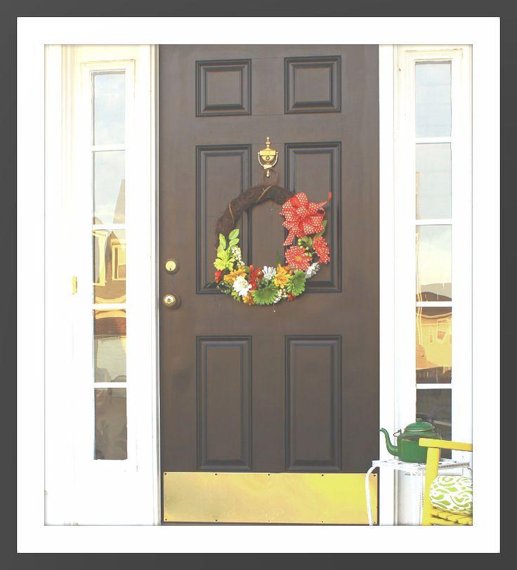 20 Best Front Door Christmas Wreath Images On Pinterest