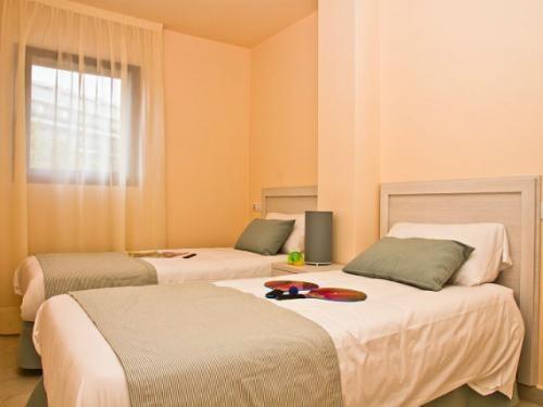 Habitación en uno de los #apartamentos del Pierre & Vacances Mojacar Playa