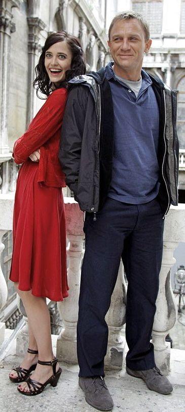 James Bond Girl n°21 - Eva Green est Vesper Lynd (2006) avec Daniel Craig - Casino Royale