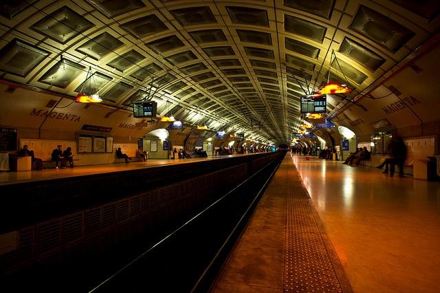 Magenta Metro Station - RER E