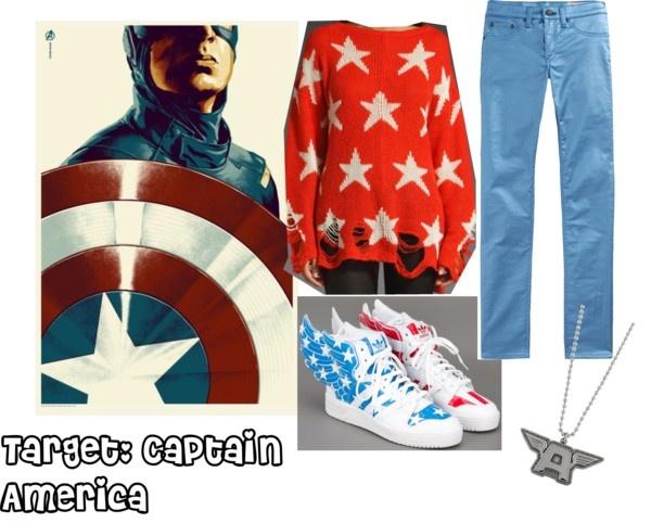 Avengers fashion: Captain America