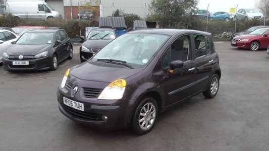 Used 2005 (05 reg) Black Renault Modus 1.6 Dynamique 5dr for sale on RAC Cars