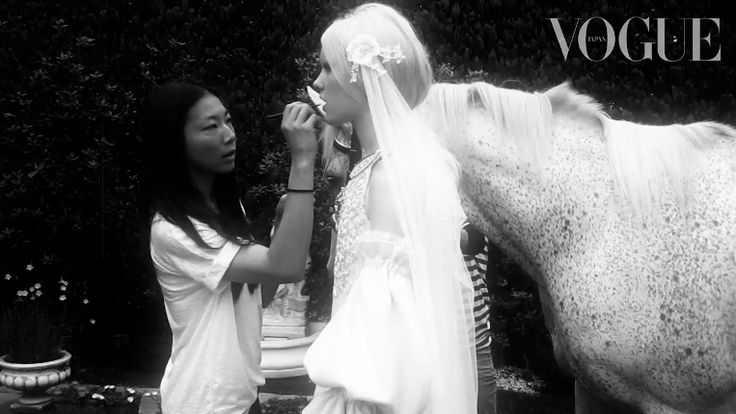 Our INA veil in VOGUE Japan Wedding
