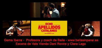Baila Sin Parar - Gema Ibarra - Profesora de Baile: Coach de #ValsVienes para película #OchoApell...