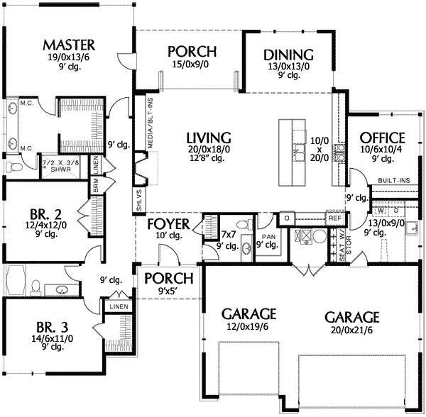 163 Best Images About Duplex House Plans On