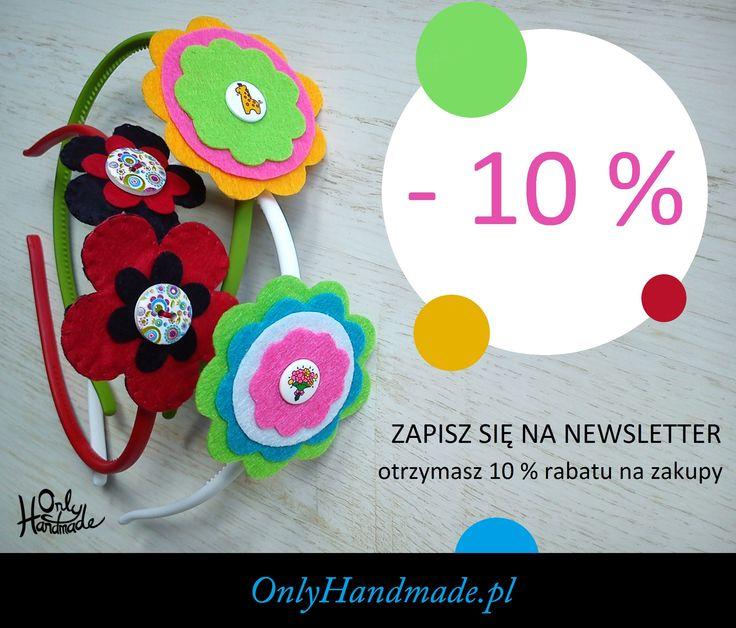 Wejdź na OnlyHandmade.pl i odbierz rabat na zakupy!