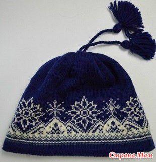 Узор для шапки - МИР В МОИХ РУКАХ! - Страна Мам
