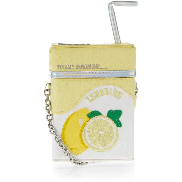 Accessorize Lemonade Carton Across Body Bag ($59) ❤ liked on Polyvore featuring bags, handbags, shoulder bags, cross body, straw handbags, crossbody shoulder bags, embroidered handbags and accessorize handbags