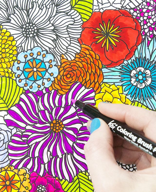 Coloring Is One Of The Best Ways To Relax Unwind Meditate And De Stress Process Adding Color My Drawings It Favorite Step