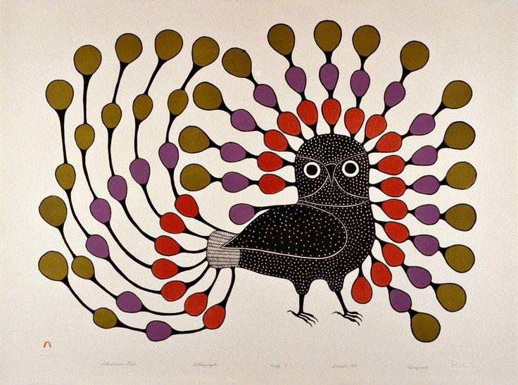 Kenojuak's Birds - 50 Watts