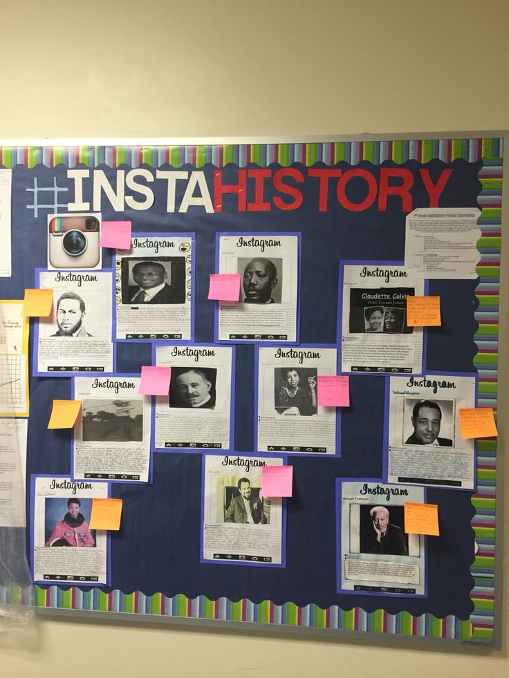 #insta______ for bulletin board