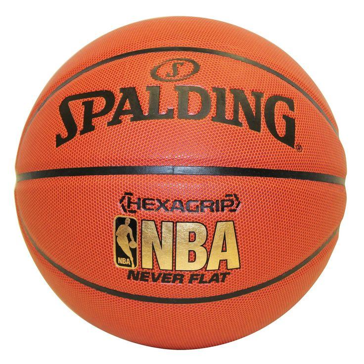 Spalding NBA Hexagrip NeverFlat Basketball | from hayneedle.com