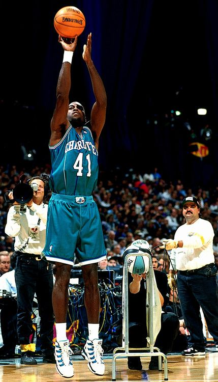 Ol' School Charlotte Uniforms!! #Glen Rice