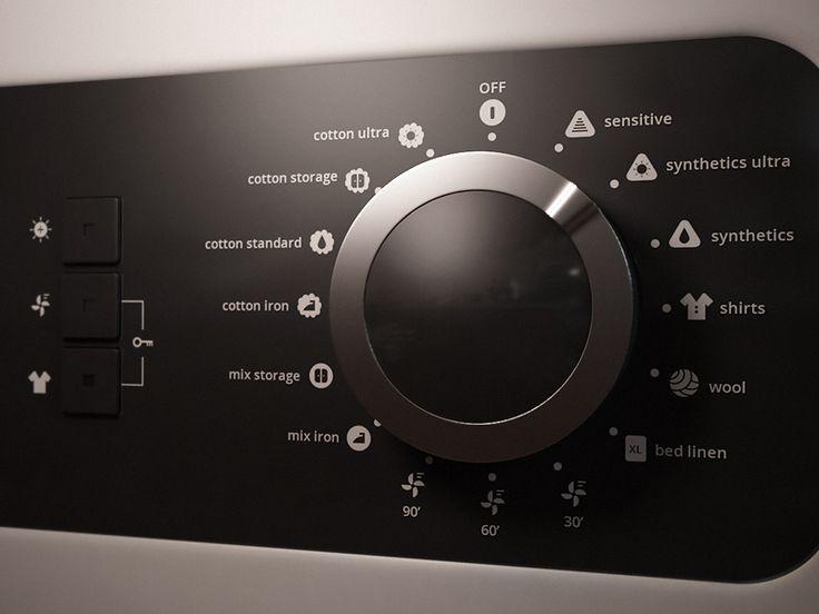 guitar controls inspiration... Dryer dial
